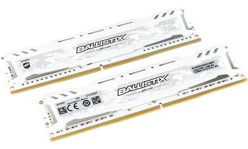 Crucial Ballistix Sport LT White 16GB DDR4-3200 CL16 kit