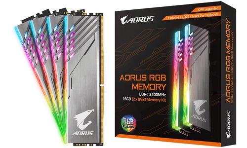 Gigabyte Aorus RGB 16GB DDR4-3200 CL16 quad kit (2x RGB Dummy)