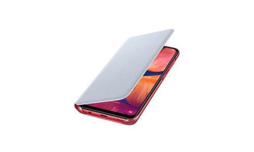 Samsung Galaxy A20E Wallet Cover White