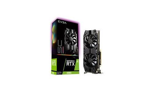EVGA GeForce RTX 2060 SC Ultra Gaming 6GB