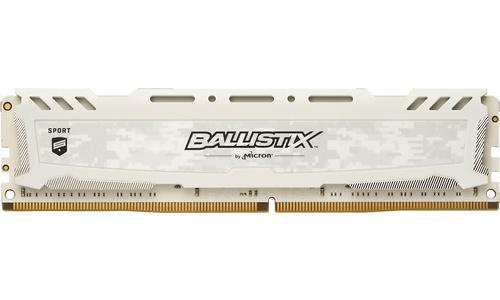 Crucial Ballistix Sport LT 16GB DDR4-3000 CL15 White