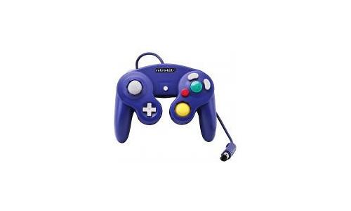 Retro-Bit GameCube Classic Controller Purple