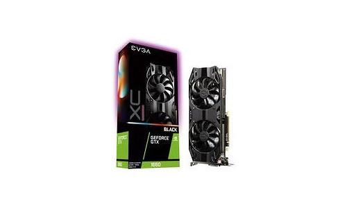 EVGA GeForce GTX 1660 XC Ultra Gaming Black 6GB
