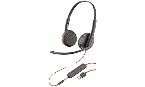 Plantronics Blackwire C3225 On-Ear Black