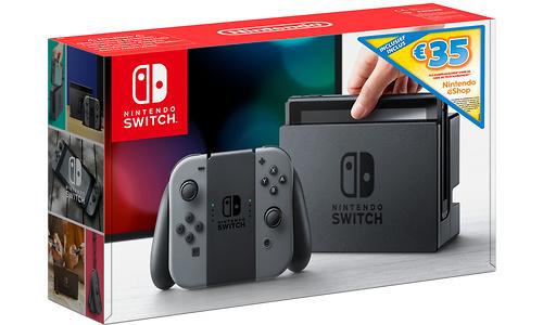 Nintendo Switch Grey + 35 eShop