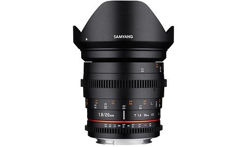 Samyang Samyang 20mm f/1.9 ED AS UMC VDSLR MFT
