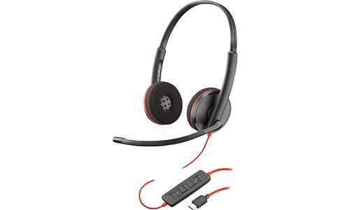 Plantronics Blackwire C3220 Black/Red
