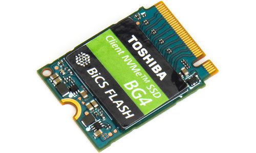 Toshiba Client NVMe SSD BG4 1TB