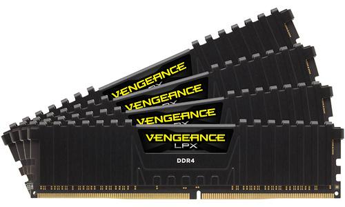 Corsair Vengeance LPX Black 32GB DDR4-3600 CL18 quad kit