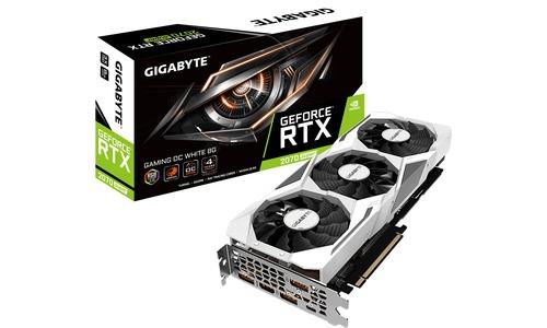 Gigabyte GeForce RTX 2070 Super Gaming OC White 8GB