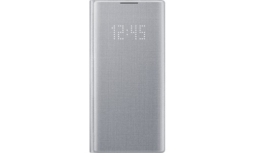Samsung Galaxy Note 10 Plus LED View Cover Silver