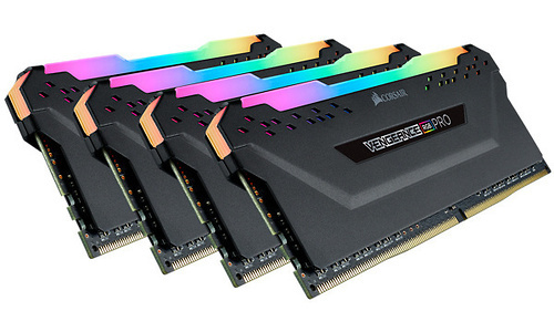 Corsair Vengeance RGB Pro Black 32GB DDR4-3200 CL16 quad kit (AMD X570)