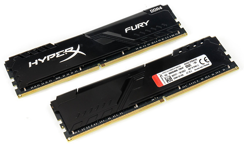Kingston HyperX Fury Black 32GB DDR4-3200 CL16 kit (XMP)
