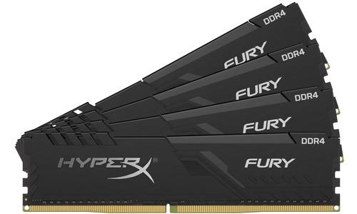 Kingston HyperX Fury Black 32GB DDR4-3466 CL16 quad kit