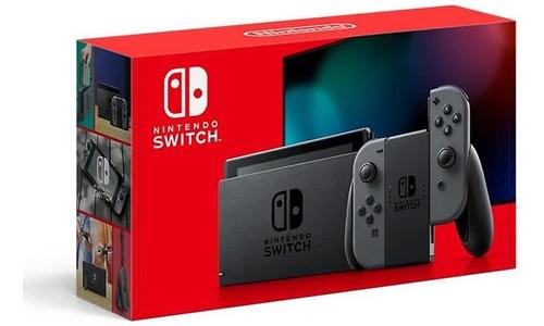 Nintendo Switch 2019 Upgrade Grey