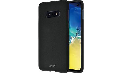 Azuri Flexible Sand Samsung Galaxy S10e Back Cover Black