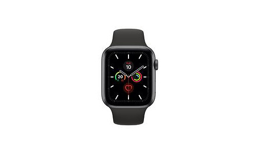 Apple Watch Series 5 44mm Space Grey Sport Band Space Grey