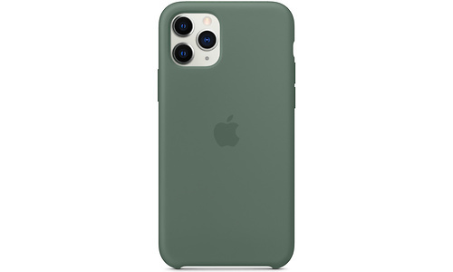 Apple iPhone 11 Pro Silicone Back Cover Green