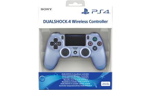 Sony PS4 Wireless DualShock 4 V2 Controller Titanium Blue