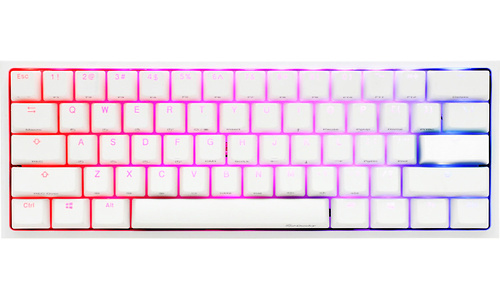 Ducky One 2 Mini RGB Pure White MX-SIlent (US)