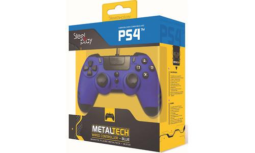 Steelplay MetalTech Wired Controller Sapphire Blue