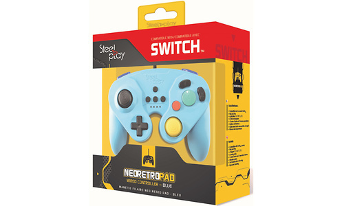 Steelplay Neo Retro Pad Wired Controller Blue