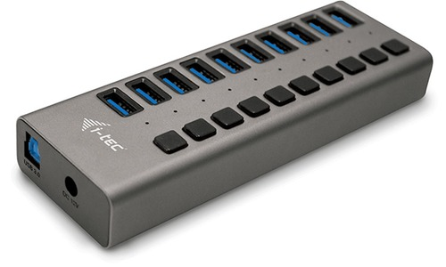 i-Tec USB 3.0 Charging Hub 10-port 48W