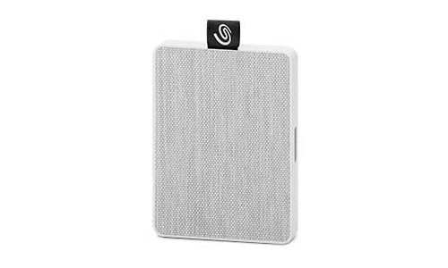 Seagate Back Up One Touch SSD 500GB White