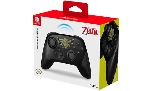 Hori Wireless Pro Controller Zelda Nintendo Switch