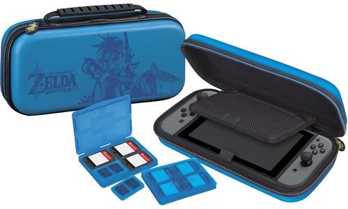 BigBen Nintendo Switch Deluxe Travelcase Zelda: Breath of the Wild Blue