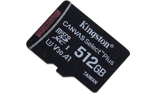 Kingston Canvas Select Plus MicroSDXC UHS-I 512GB + Adapter