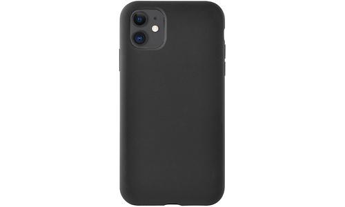 Azuri Apple iPhone 11 Siliconen Back Cover Black