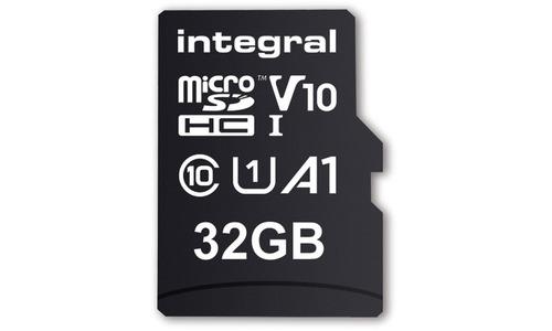 Integral MicroSDHC UHS-I V10 32GB + Adapter