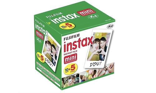 Fujifilm Fuji Instax Mini Colorfilm Glossy 5 x10 Pack