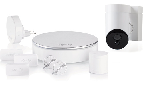 Somfy Home Alarm + Outdoor Camera White