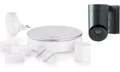 Somfy Home Alarm + Outdoor Camera Grey