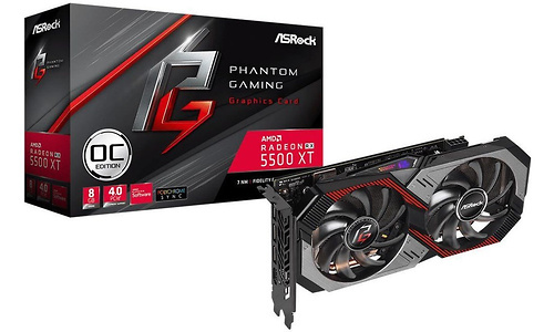 ASRock Radeon RX 5500 XT Phantom Gaming D OC 8GB