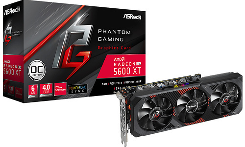 ASRock Radeon RX 5600 XT Phantom Gaming D3 OC 6GB