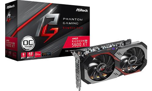 ASRock Radeon RX 5600 XT Phantom Gaming 2 OC 6GB