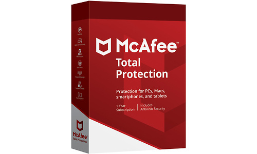 McAfee Total Protection 3-devices 1-year (NL)