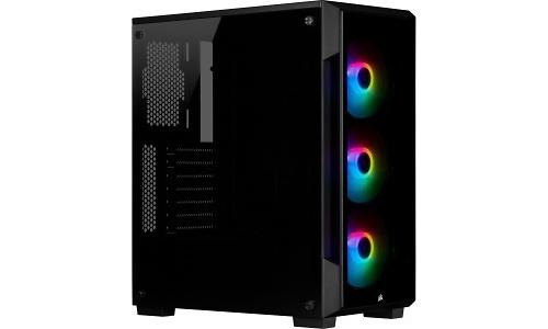 Corsair iCue 220T RGB Window Black (Front Glass Edition)