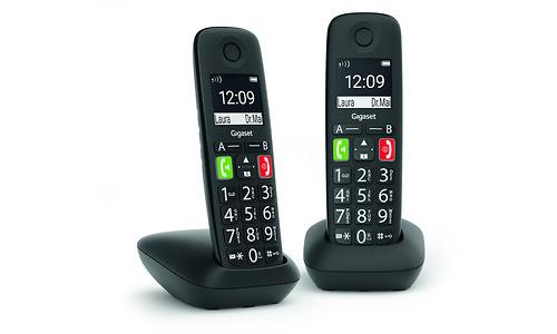 Gigaset E290 Duo Black