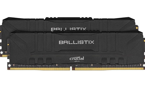 Crucial Ballistix Black 16GB DDR4-2666 C16 Kit