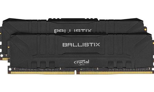 Crucial Ballistix Black 16GB DDR4-3600 CL16 Kit