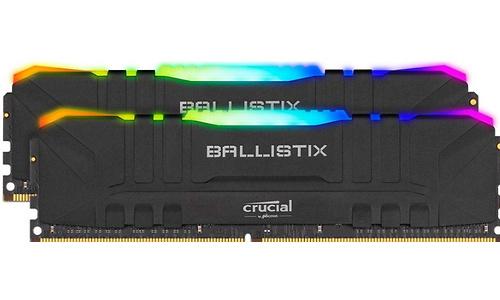 Crucial Ballistix RGB Black 16GB DDR4-3600 CL16 Kit