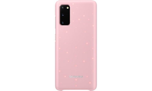 Samsung LED Cover Galaxy S20 Pink