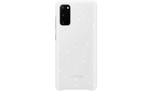 Samsung LED Backcover Galaxy S20 Cover White