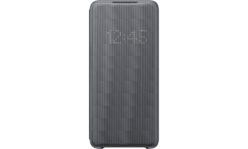 Samsung Galaxy S20 Plus Led View Book Case Grey