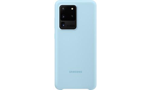 Samsung Silicone Cover Galaxy S20 Ultra Blue
