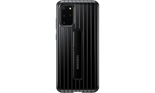Samsung Galaxy S20 Plus Protective Standing Back Cover Black